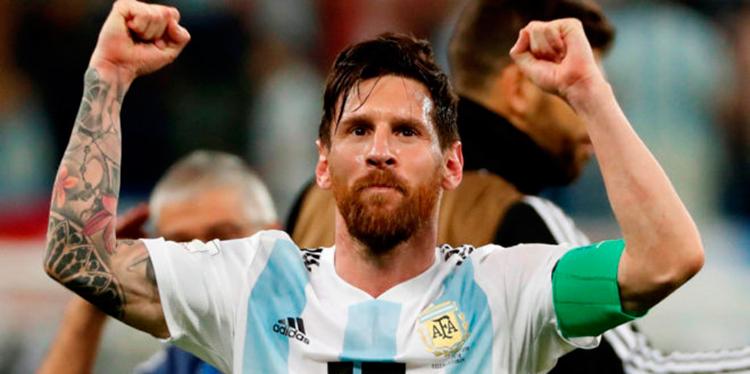 Messi encabeza lista previa de 30 argentinos para comienzo de eliminatorias