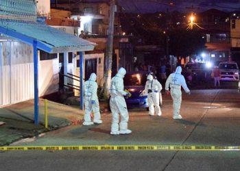 El violento hecho ocurrió en un mercadito de la colonia El Pedregalito, sector norte de Comayagüela.