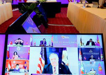 Pompeo insta al Sudeste Asiático a no dejarse 'avasallar' por China
