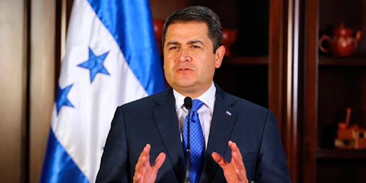 Presidente Hernández reitera llamado a OEA para que acompañe elecciones