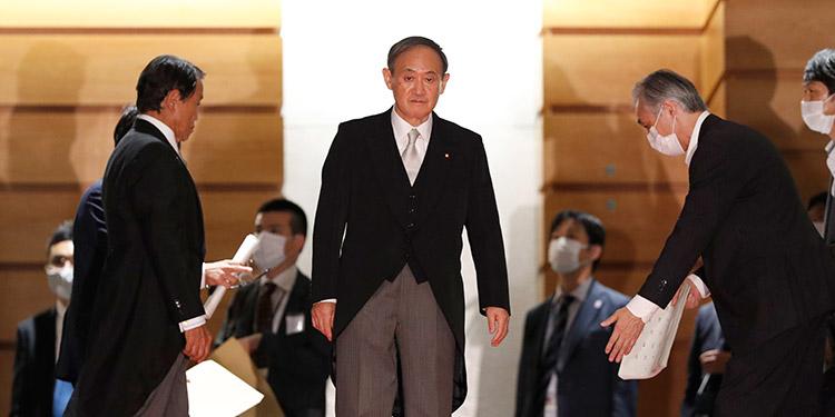 Yoshihide Suga, sucede a Abe como primer ministro de Japón