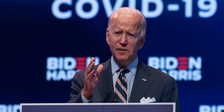 """Dice Biden: Fracaso de Trump lo """"descalifica totalmente"""""""