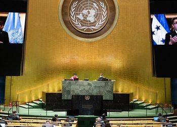 Líderes latinoamericanos llevaron a Naciones Unidas una apuesta por el multilateralismo y la solidaridad ante la gran crisis desatada en todo el mundo por el coronavirus. (LASSERFOTO AFP)