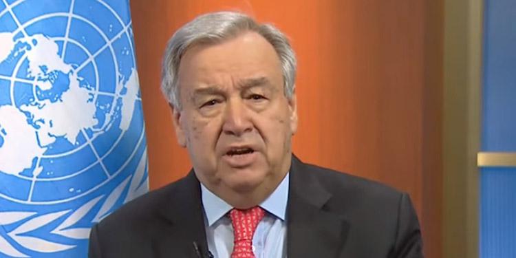 Guterres pide que se tome en serio informe