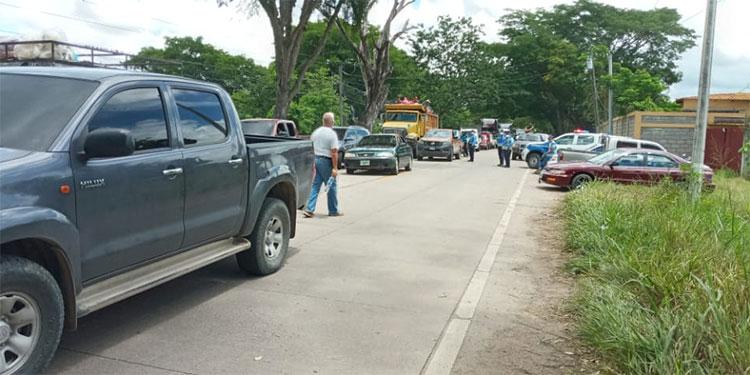 Rehabilitado tránsito vial de y hacia Olancho