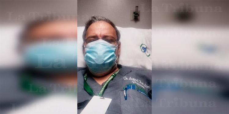 Vicepresidente del CMH es ingresado a hospital por sospecha de COVID-19