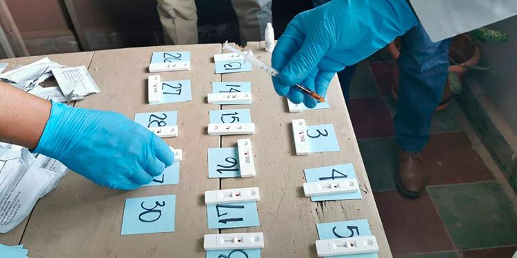 Hasta la fecha 1599 casos de COVID-19 en Siguatepeque
