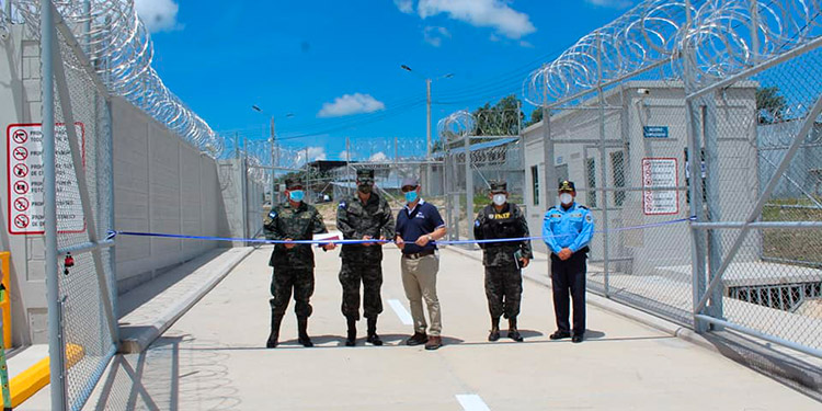INP inaugura nuevas instalaciones en centro penitenciario de 'Siria'