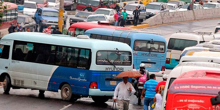 1500 transportistas a protestas en La Lima