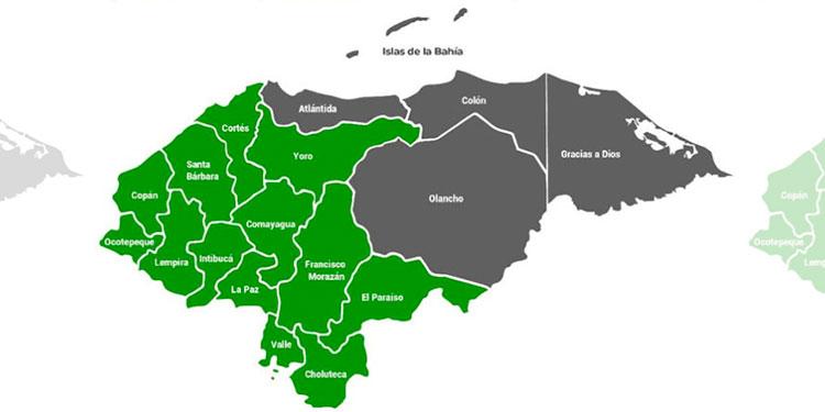 Por lluvias y humedad en el suelo sigue alerta verde en 13 departamentos del país