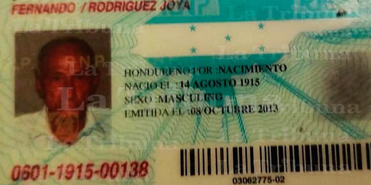 Hondureño de 105 años vence al COVID-19 en Choluteca