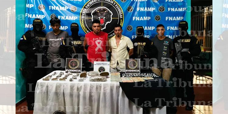 Desarticulan banda delictiva en La Ceiba