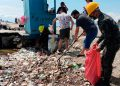 Honduras exige a Guatemala nuevas acciones para evitar llegada de basura a Omoa