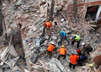Suspenden búsqueda de sobreviviente en edificio en Beirut
