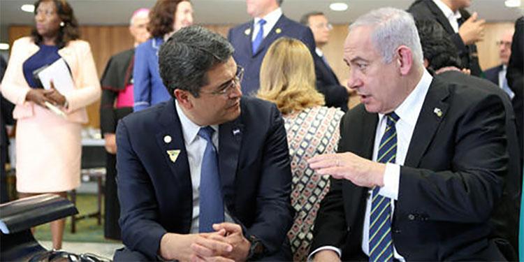 Primer ministro de Israel ratifica trabajo con JOH para apertura de embajadas