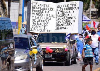 Hondureños celebran el 'Día de la Biblia' en medio de la pandemia