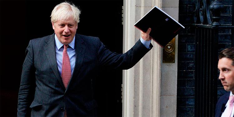 """Boris Johnson: """"Se ha alcanzado un acuerdo"""""""