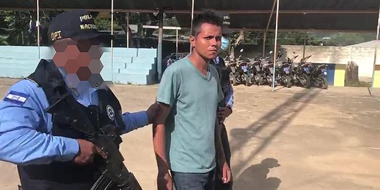 Pandillero apresado por matar jovencita tras violarla