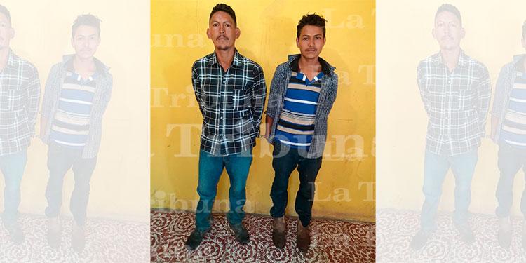 Capturan a dos hombres por homicidio en Intibucá