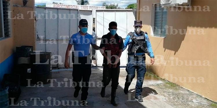 Capturan a sospechoso de violar a la mejor amiga de su esposa en Talanga