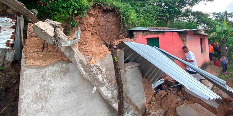 Copeco confirma más de 500 personas afectadas por las lluvias