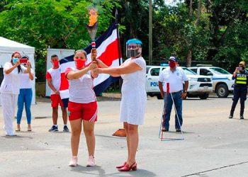 Costa Rica realiza recorrido virtual de la Antorcha Centroamericana