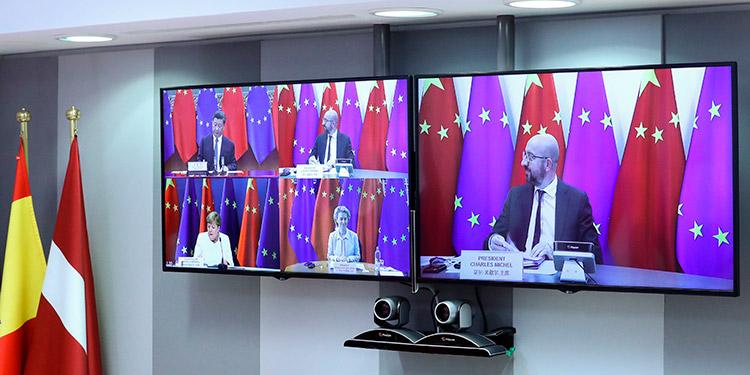 Comienza la cumbre en la que la UE espera dar un impulso al pacto de inversiones con China
