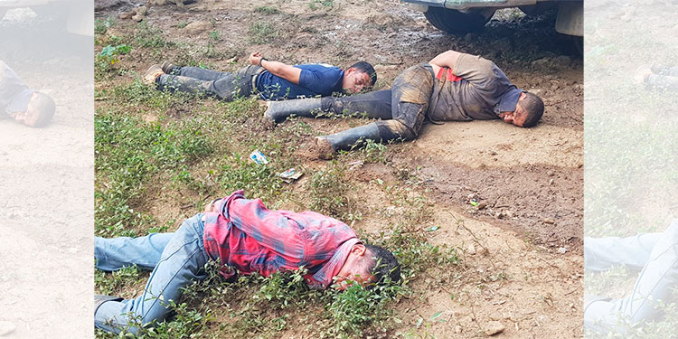 Un delincuente muerto y tres detenidos tras enfrentamiento con la policía en Yoro