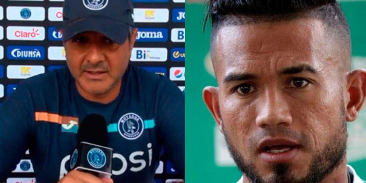 """Diego Vázquez descarta regreso del """"Chino"""" Discua a Motagua"""
