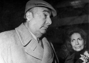 Pablo Neruda y su mujer, Matilde Urrutia. EFE/rba/Archivo