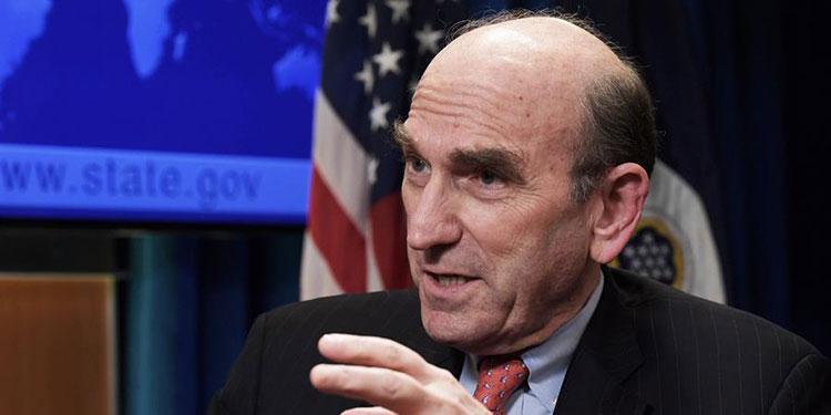 El enviado especial de EE. UU. para Venezuela, Elliott Abrams. EFE