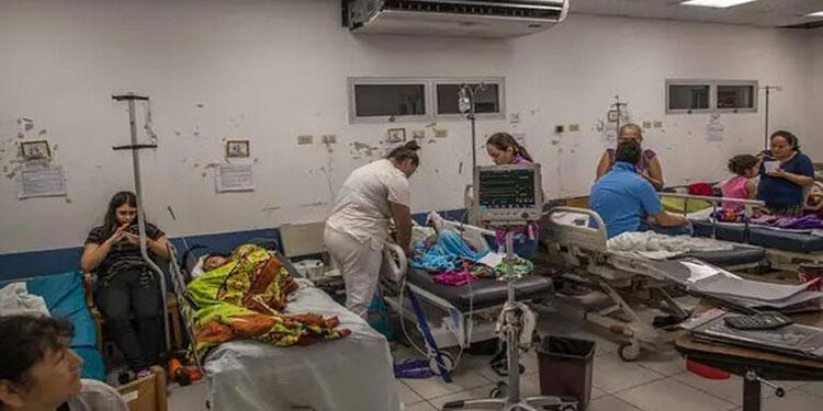 72 camas disponibles, tiene el hospital San Felipe para atender a pacientes con COVID-19.