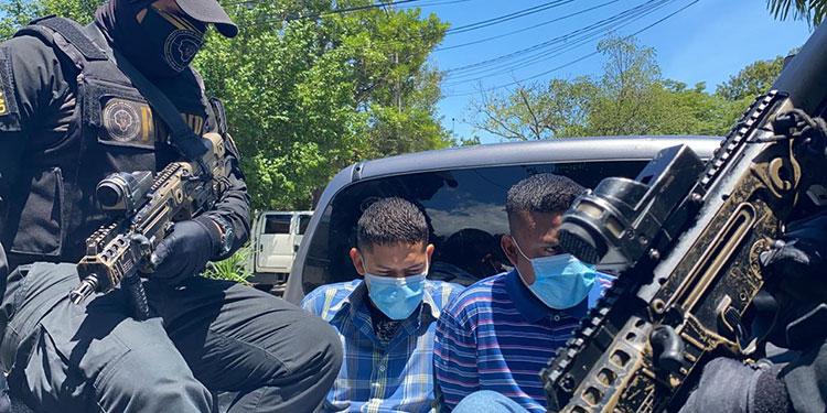 """Prisión preventiva para """"El Coronel """" y """"El Champi"""" por extorsión"""