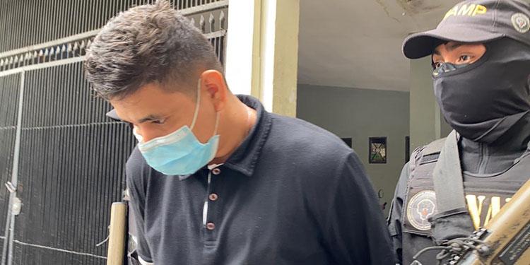 """Marco Tulio Toro Orellana (23) alias """"El Voica""""."""