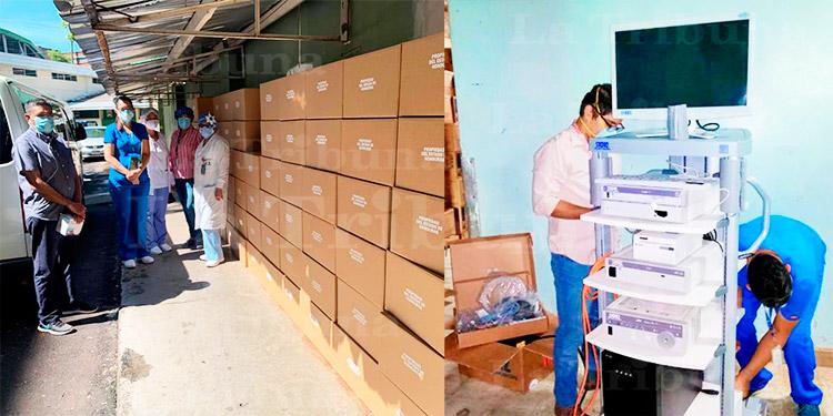 Hospital Escuela adquiere insumos y equipos médicos