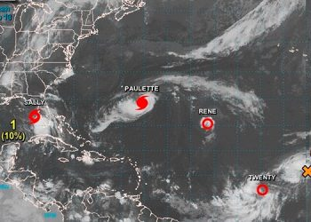 Más de 23 mil personas sin electricidad al paso de Paulette por Bermudas