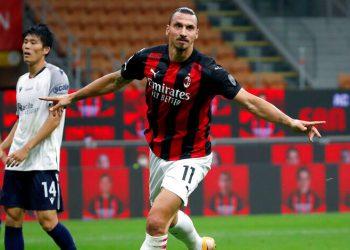Ibrahimovic coloca tercero al Milan con un doblete