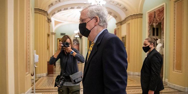 Fracasa el intento de aprobar un nuevo plan de estímulo en Senado de EE.UU.