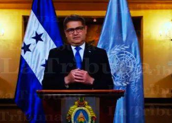 Presidente Hernández ante la ONU: con el COVID-19 debemos buscar nuevas ideas