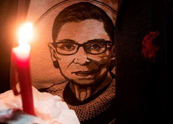 Los demócratas baten récords de recaudación de fondos tras la muerte de Ginsburg