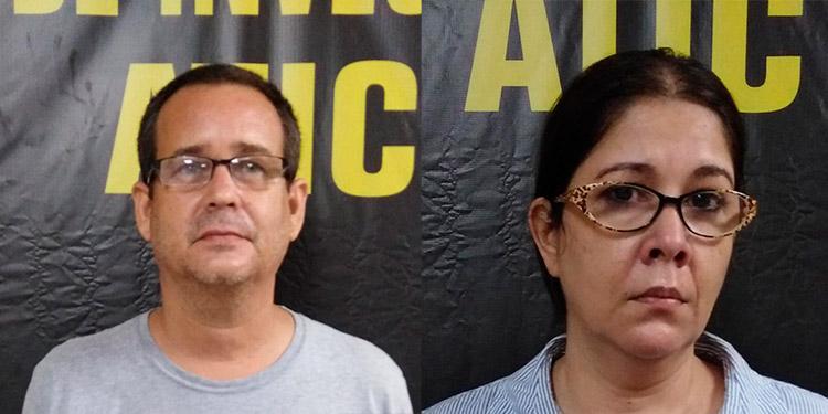 Mandan a prisión a pareja prófuga por lavado de activos