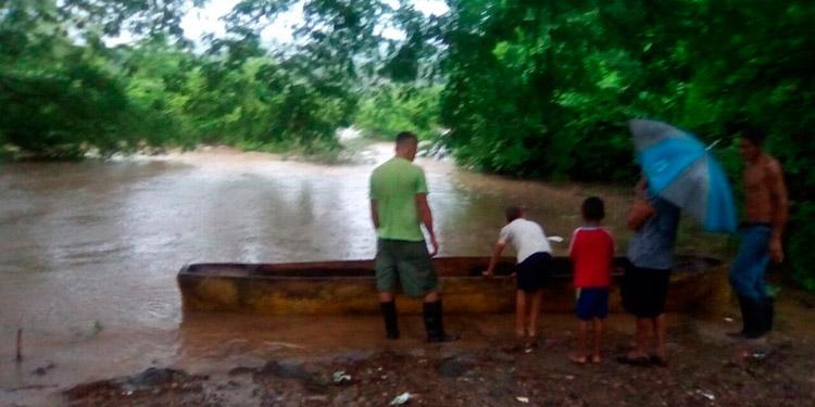 Lluvias continuarán en el sur centro y occidente de Honduras