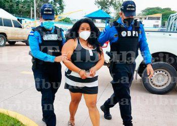 Cae 'La Madre', una de las mayores distribuidoras de drogas en Tatumbla