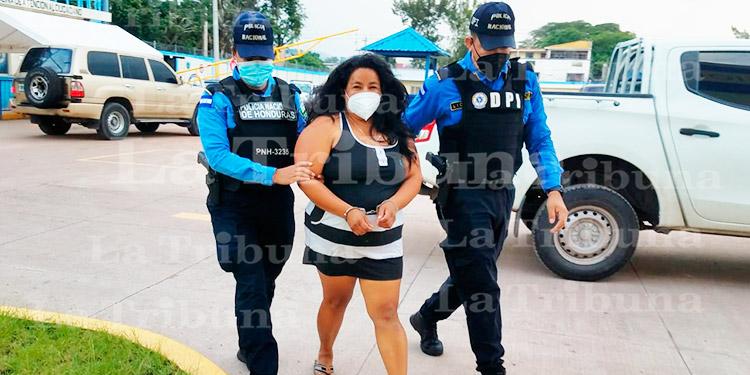 Cae 'La Madre' una de las mayores distribuidoras de drogas en Tatumbla
