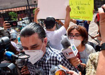 Marco Bográn llega a la ATIC a rendir nueva declaración