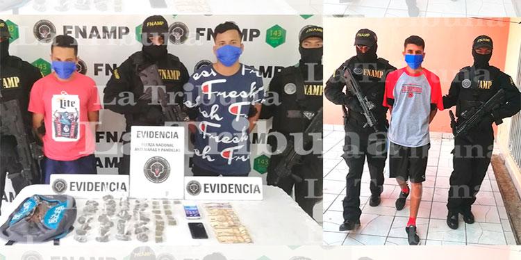 Capturan a tres pandilleros por el cobro de extorsión en la capital