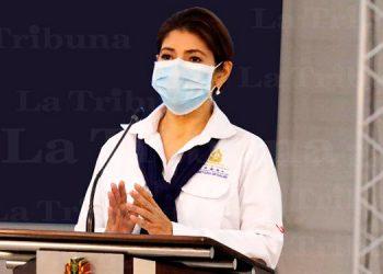 Ministra de Salud: Ocupación hospitalaria en Honduras bajó a 48%