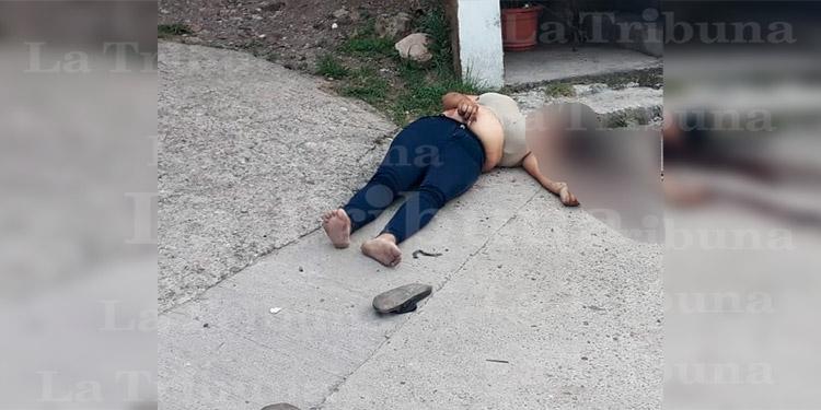 Matan a balazos a una mujer en Comayagüela