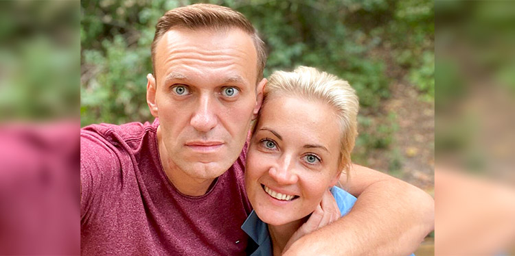 'Ustedes son buenas personas' agradece Navalny en Alemania