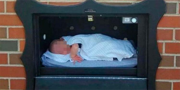 Autorizan el primer buzón para abandonar a bebés en Bélgica